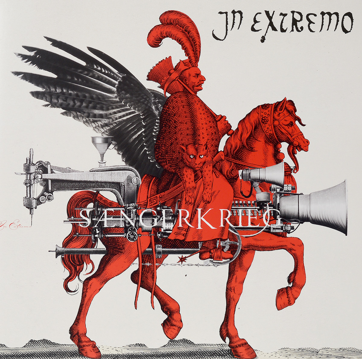 In Extremo In Extremo. Sangerkrieg (LP) in extremo in extremo vinyl collection 8 lp