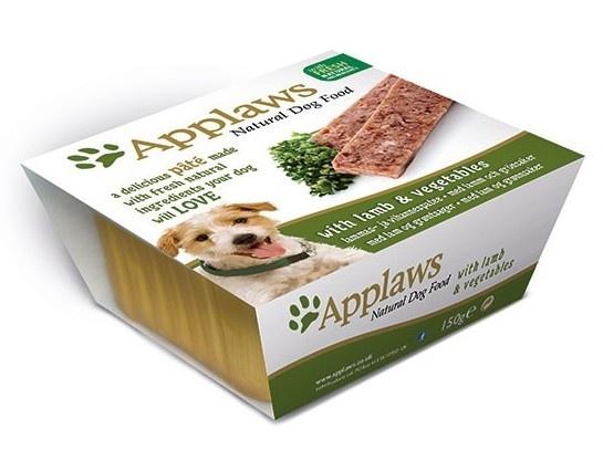 Паштет для собак Applaws, с ягненком и овощами, 150 г10293Нежный паштет Applaws - это полнорационная порция мясного и рыбного мусса с добавлением всех необходимых для собаки витаминов и минералов. Упаковка в виде алюминиевого контейнера прекрасно сохраняет качество ингредиентов и его непревзойденный вкус. Состав: курица - 27%, свинина - 19%, молодая морковь - 8%, зеленый горошек - 8%, филе ягненка - 4%, индейка - 4%, рыба - 4%.Пищевые добавки: витамин Е - 30 МЕ/кг, сульфат меди - 1мг/кг, сульфат цинка - 20 мг/кг. Гарантированный анализ: белки - 10%, жиры - 5,5%, клетчатка - 0,2%, зола - 2,3%, влага - 82%. Товар сертифицирован.