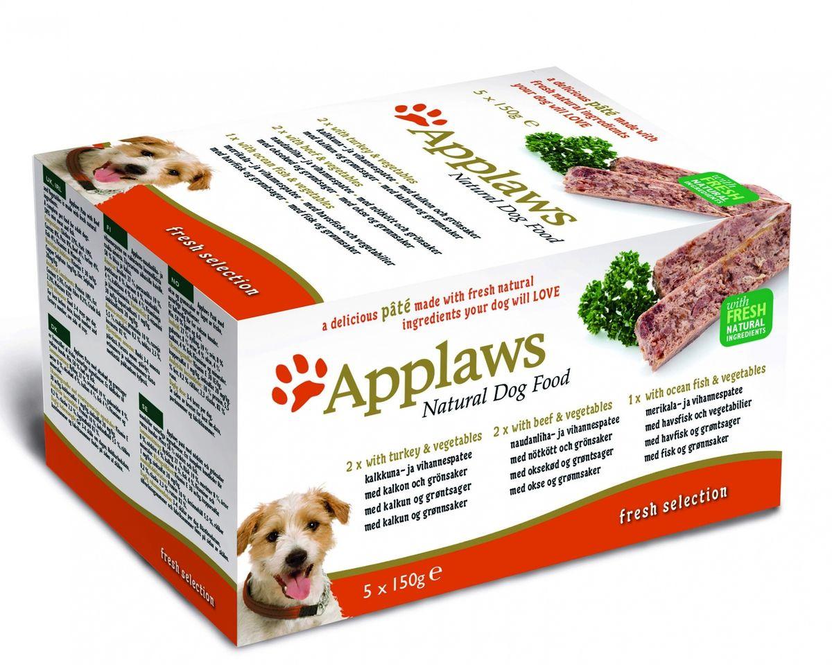 Набор консервов для собак