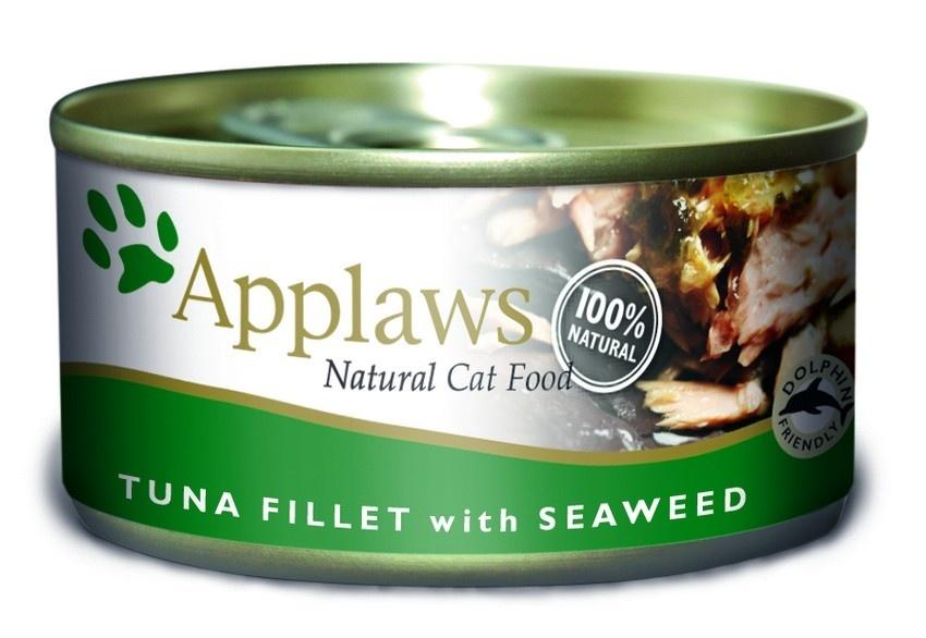 Консервы Applaws, для кошек, с филе тунца и морской капустой, 70 г0120710Каждая баночка Applaws содержит порцию свежего мяса, приготовленного в собственном бульоне. Для приготовления любого типа консервов используется мясо животных свободного выгула, выращенных на фермах Англии. В состав каждого рецепта входит только три/четыре основных ингредиента и ничего более. Не содержит ГМО, синтетических консервантов или красителей. Не содержит вкусовых добавок.Состав: филе тунца 70%, рыбный бульон 24%, морские водоросли 5%, рис 1%.Анализ: белок 14 %, клетчатка 1 %, жиры 1 %, зола 2 %, влага 82 %.Товар сертифицирован.
