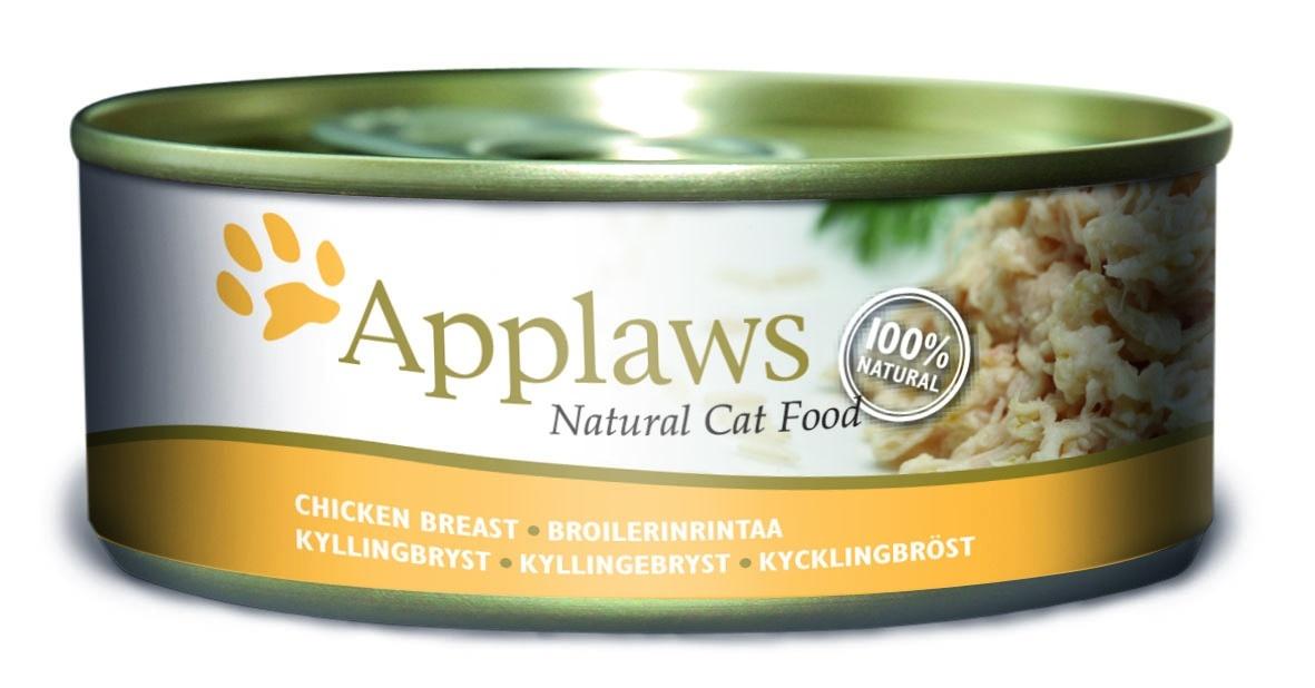 Консервы Applaws, для кошек, с куриной грудкой, 156 г0120710Каждая баночка Applaws содержит порцию свежего мяса, приготовленного в собственном бульоне. Для приготовления любого типа консервов используется мясо животных свободного выгула, выращенных на фермах Англии. В состав каждого рецепта входит только три/четыре основных ингредиента и ничего более. Не содержит ГМО, синтетических консервантов или красителей. Не содержит вкусовых добавок.Состав: филе куриной грудки 75%, куриный бульон 24%, рис 1%.Анализ: белок 14%, клетчатка 1%, жиры 0,3%, зола 2%, влага 82%.Товар сертифицирован.