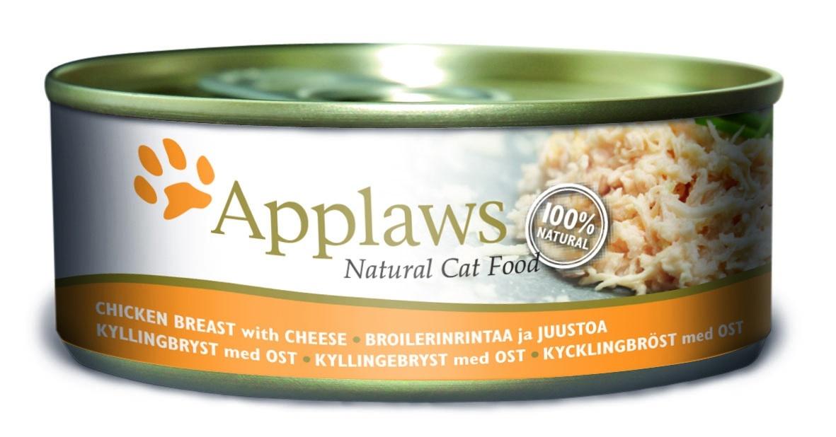 Консервы для кошек Applaws, с куриной грудкой и сыром, 156 г24354Каждая баночка Applaws содержит порцию свежего мяса, приготовленного в собственном бульоне. Для приготовления любого типа консервов используется мясо животных свободного выгула, выращенных на фермах Англии. В состав каждого рецепта входит только три/четыре основных ингредиента и ничего более. Не содержит ГМО, синтетических консервантов или красителей. Не содержит вкусовых добавок. Состав: Филе куриной грудки 70%, куриный бульон 24%, сыр 5%, рис 1%.Гарантированный анализ: Белок 14%, Клетчатка 1%, Жиры 0,3%, Зола 2%, Влага 82%. Товар сертифицирован. Условия хранения: в прохладномтемном месте
