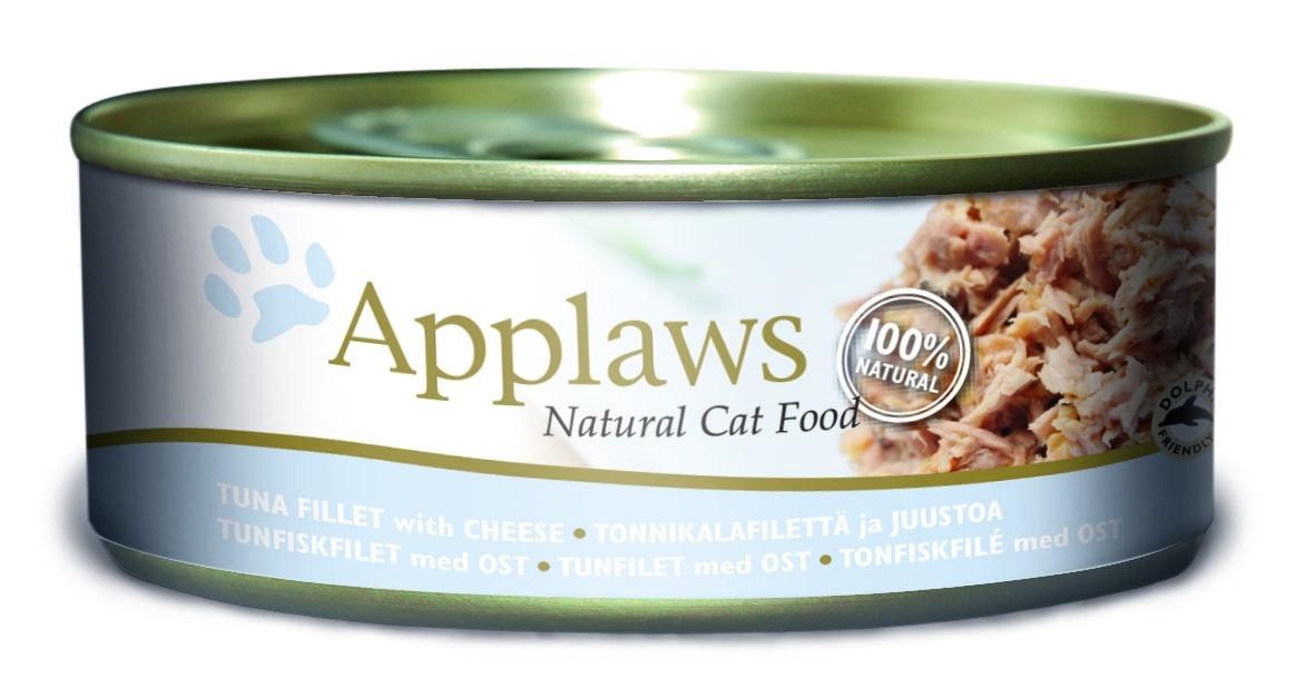 Консервы для кошек Applaws, с тунцом и сыром, 156 г24355Каждая баночка Applaws содержит порцию свежего мяса, приготовленного в собственном бульоне. Для приготовления любого типа консервов используется мясо животных свободного выгула, выращенных на фермах Англии. В состав каждого рецепта входит только три/четыре основных ингредиента и ничего более. Не содержит ГМО, синтетических консервантов или красителей. Не содержит вкусовых добавок. Состав: филе тунца 70%, рыбный бульон 23%, сыр 6%, рис 1%.Гарантированный анализ: белок 14%, клетчатка 1%, жиры 0,5%, зола 2%, влага 82%.Товар сертифицирован. Условия хранения: в прохладномтемном месте