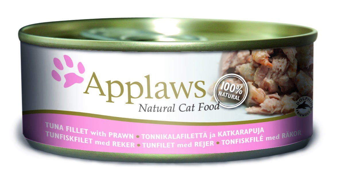 Консервы Applaws, для кошек, с филе тунца и креветками, 156 г24356Каждая баночка Applaws содержит порцию свежего мяса, приготовленного в собственном бульоне. Для приготовления любого типа консервов используется мясо животных свободного выгула, выращенных на фермах Англии. В состав каждого рецепта входит только три/четыре основных ингредиента и ничего более. Не содержит ГМО, синтетических консервантов или красителей. Не содержит вкусовых добавок.Состав: филе тунца 52%, рыбный бульон 24%, креветки 23%, рис 1%.Анализ: белок 14 %, клетчатка 1 %, жиры 1 %, зола 2 %, влага 82 %.Товар сертифицирован.