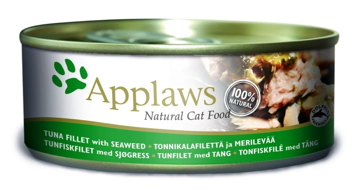 Консервы Applaws, для кошек, с филе тунца и морской капустой, 156 г0120710Каждая баночка Applaws содержит порцию свежего мяса, приготовленного в собственном бульоне. Для приготовления любого типа консервов используется мясо животных свободного выгула, выращенных на фермах Англии. В состав каждого рецепта входит только три/четыре основных ингредиента и ничего более. Не содержит ГМО, синтетических консервантов или красителей. Не содержит вкусовых добавок.Состав: филе тунца 70%, рыбный бульон 24%, морские водоросли 5%, рис 1%.Анализ: белок 14 %, клетчатка 1 %, жиры 1 %, зола 2 %, влага 82 %.Товар сертифицирован.