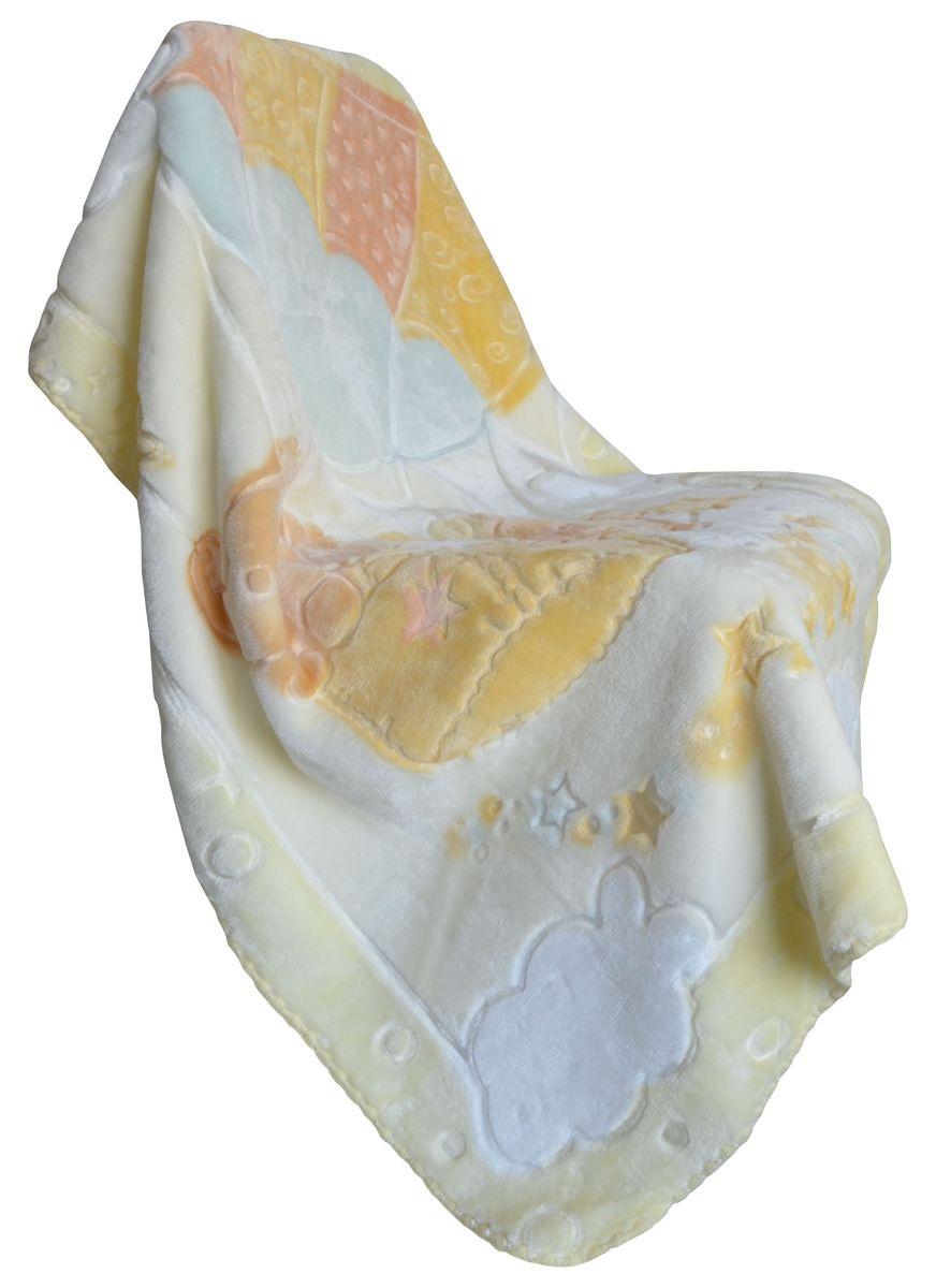 Bonne Fee Плед-одеяло 80х110, набивка, жаккардовый рисунок, желтый531-105Приятный и мягкий на ощупь, но при этом плотный и надёжный материал. Выстреженный жаккардовый рисунок не оставляет равнодушным никого! Нежность, забота, любовь и тепло - этими словами можно описать плед-одеяло для малышей. Отличное качество и практичность! Любите своего ребёнка и дарите ему лучшее!