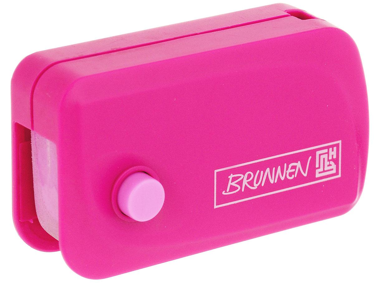 Brunnen Ластик Клик, цвет: розовый730396Автоматический ластик Brunnen Клик станет незаменимым аксессуаром на рабочем столе не только школьника или студента, но и офисного работника. Ластик в пластиковом прямоугольном корпусе розового цвета. На корпусе имеются отверстия для подвесок и брелоков. Ластик выдвигается из корпуса с приятным приглушенным щелчком (сбоку на корпусе есть кнопка для выдвижения ластика). Выдвигающийся ластик имеет прямоугольную форму со слегка закругленным одним краем.