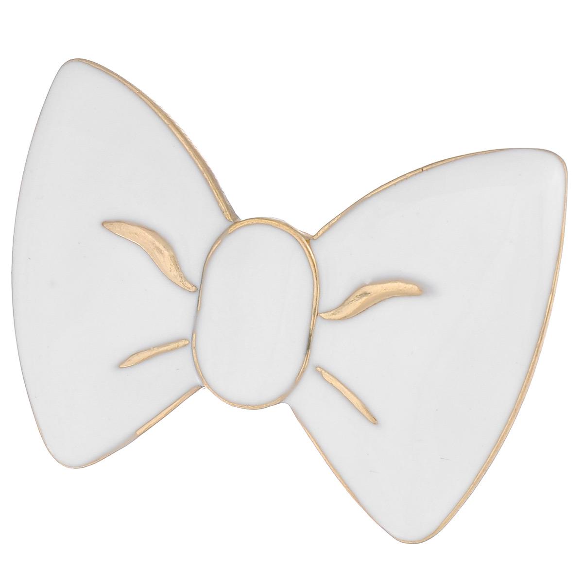 Кольцо Avgad, цвет: золотистый, белый. EA178JW162Коктейльное кольцоОригинальное кольцо Avgad выполненное из ювелирного сплава и эмали в виде бантика. Элементы кольца соединены с помощью тонкой резинки, благодаря этому оно легко одевается и снимается. Размер универсальный.Кольцо позволит вам с легкостью воплотить самую смелую фантазию и создать собственный, неповторимый образ.