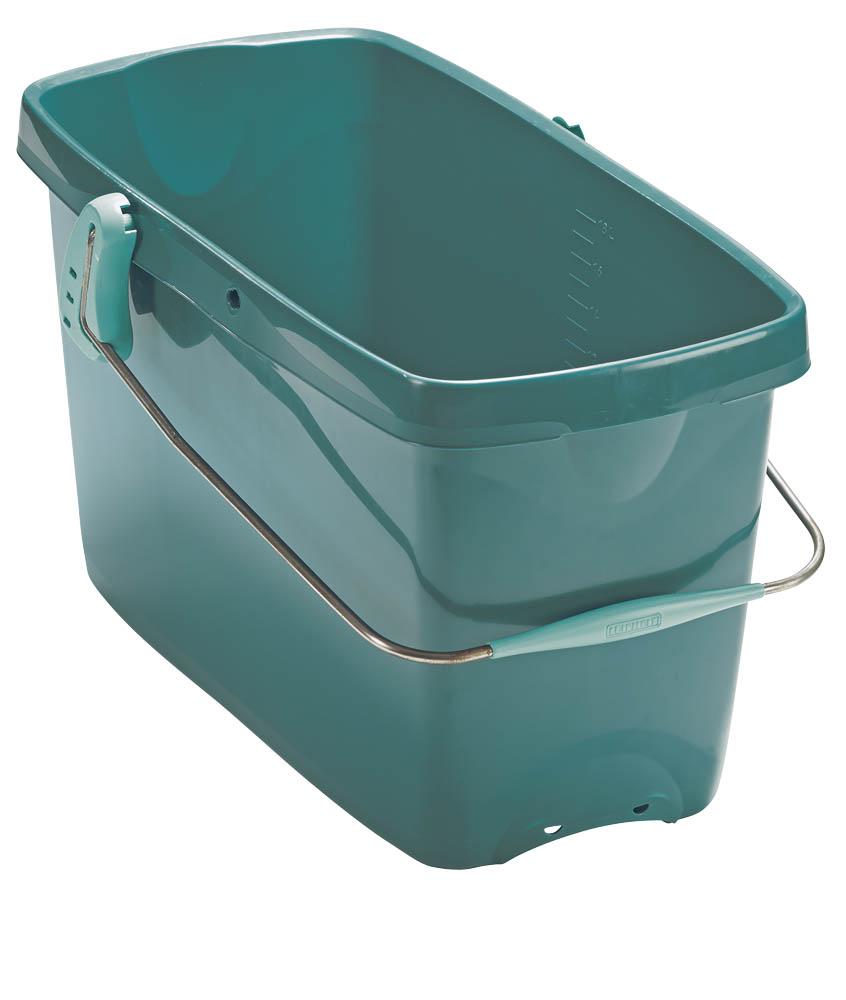 Ведро универсальное Leifheit Combi XL, 20 л2324Универсальное ведро для уборки Leifheit Combi XL изготовлено из высококачественного пластика. Оно легче железного и не подвержено коррозии. Ведро оснащено двумя удобными пластиковыми ручками и отметками литража на внутренней стенке. Ведро можно использовать с насадкой для отжима. Такое ведро станет незаменимым помощником в хозяйстве.