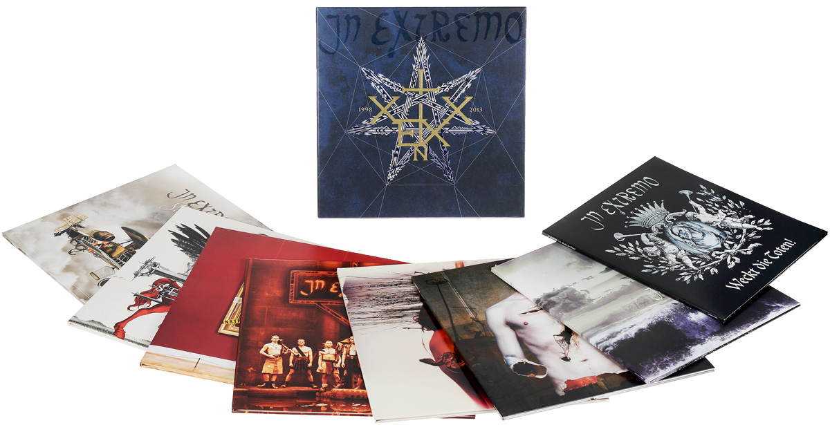 In Extremo In Extremo. 1998-2013. Limited Edition (8 LP) in extremo in extremo vinyl collection 8 lp