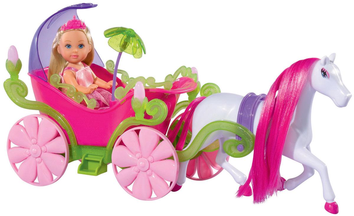 Simba Игровой набор с мини-куклой Evi Love Fairy Carriage