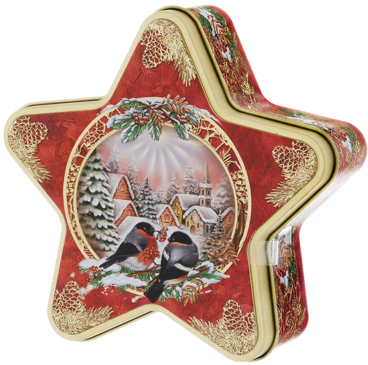 Hilltop Морозный рассвет Рождественский черный листовой чай, 100 г0120710Ароматный черный чай Hilltop Морозный рассвет с корицей и цедрой апельсина. Дополнен миндальным орехом, инжиром и гвоздикой.