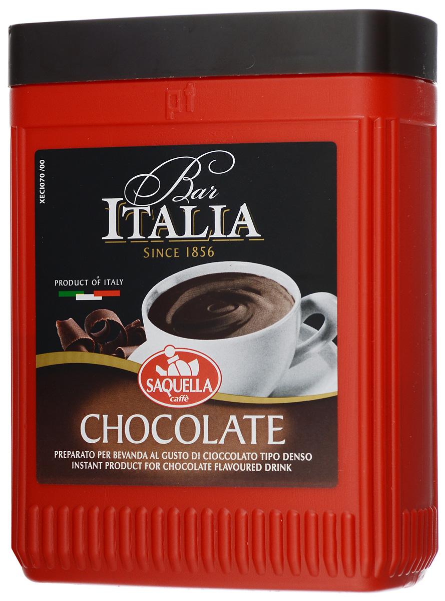 Saquella Bar Italia Chocolate горячий шоколад, 400 г0120710Горячий шоколад Saquella Bar Italia Chocolate обладает правильной структурой и может быть приготовлен с добавлением молока, при этом можно легко варьировать консистенцию: от плотной массы до легкого напитка. Сливочный, нежный и обволакивающий вкус горячего шоколада не оставит равнодушным сластен любого возраста.