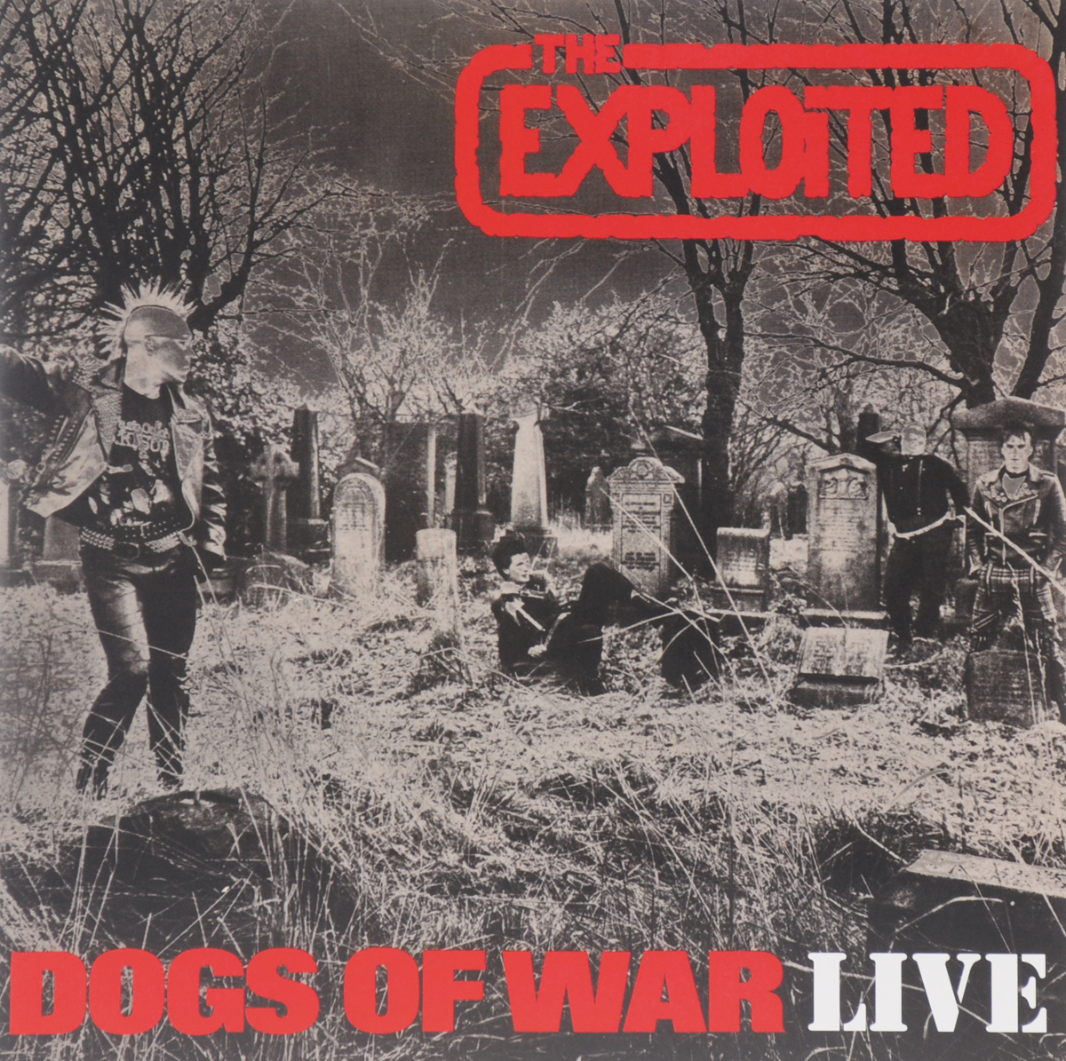 The Exploited Exploited. Dogs Of War Live. Limited Edition (LP)