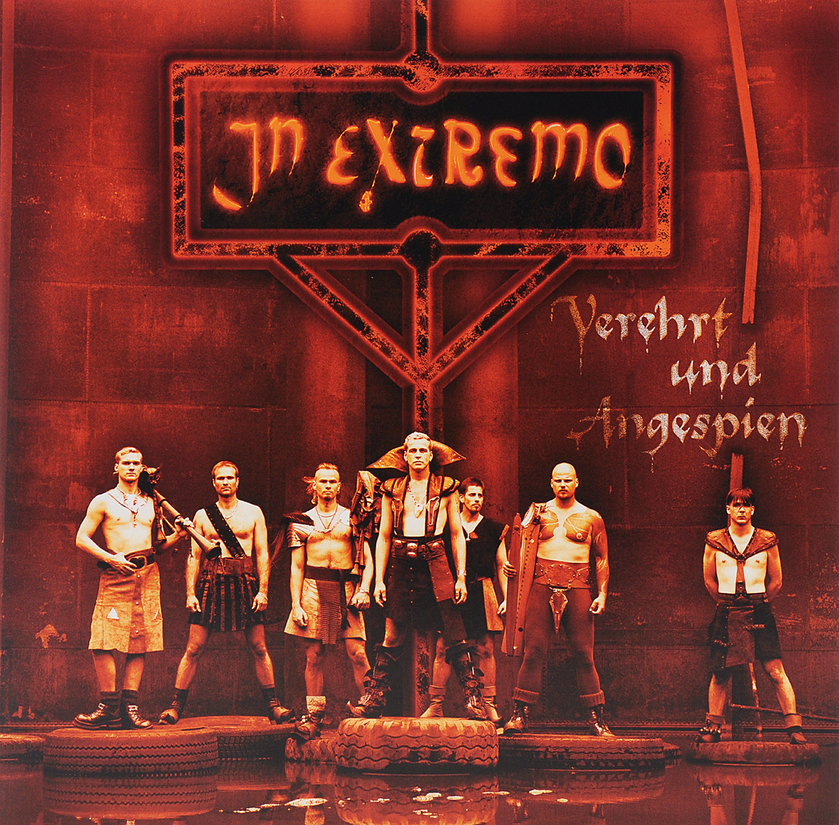 In Extremo In Extremo. Verehrt Und Angespien (LP) in extremo in extremo vinyl collection 8 lp