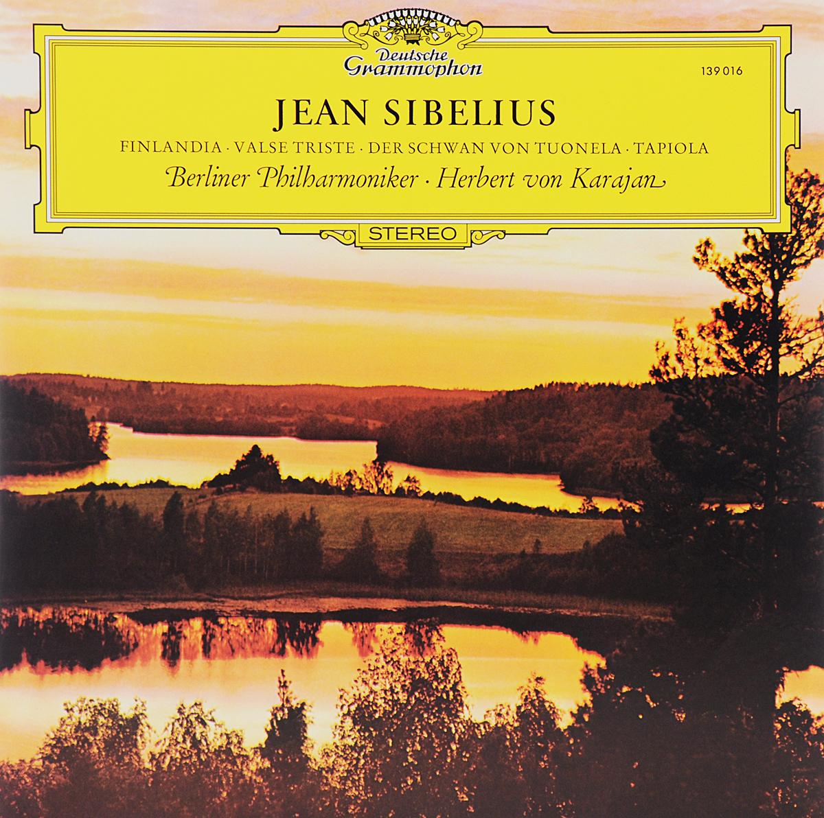 цены  Герберт Караян,Berliner Philharmoniker Herbert Von Karajan. Jean Sibelius. Finlandia / Valse Triste / Der Schwan Von Tuonela / Tapiola (LP)