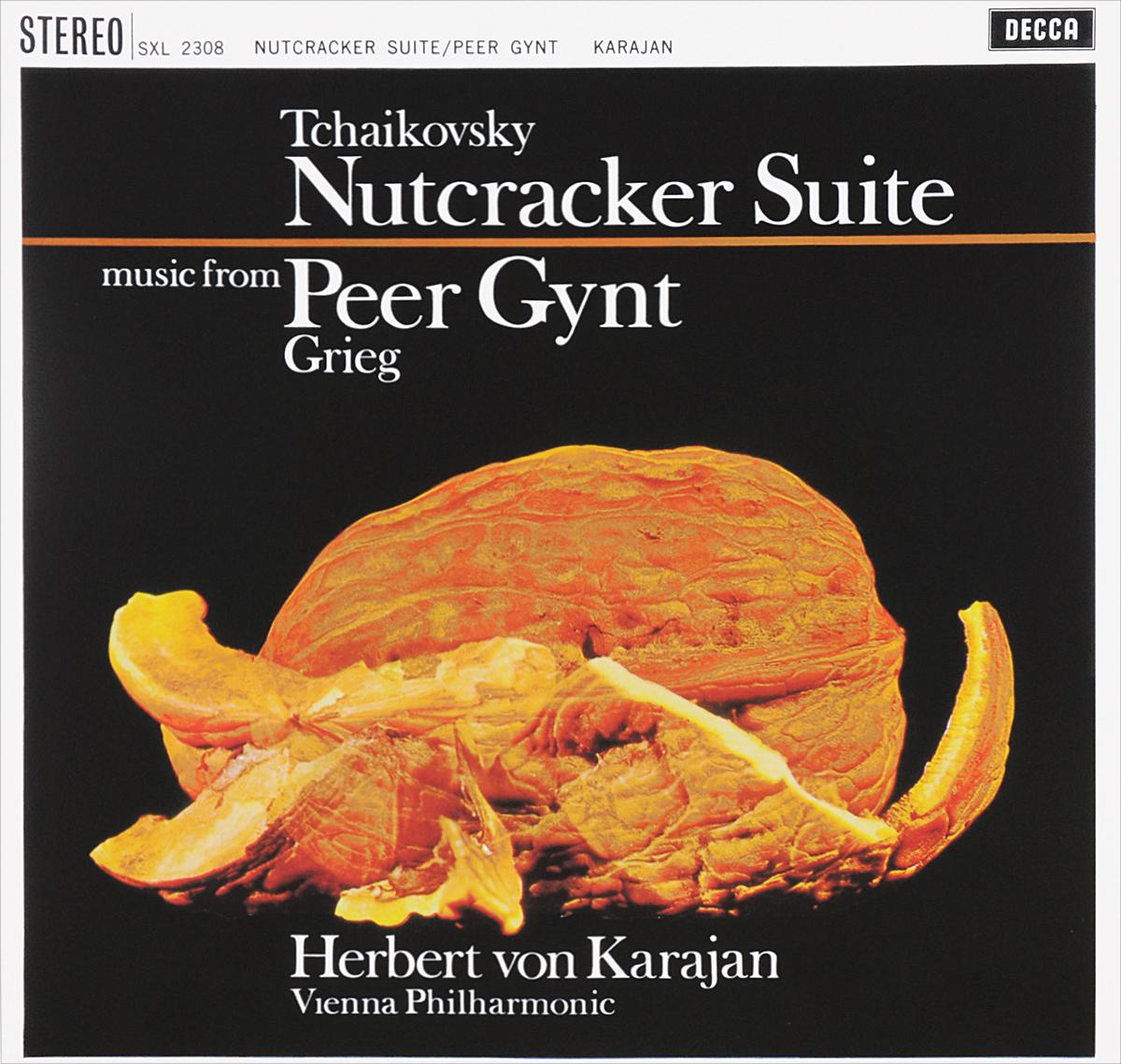 Герберт Караян,Vienna Philharmonic Orchestra Herbert Von Karajan. Tchaikovsky. Nutcracker Suite / Grieg. Peer Gynt (LP) herbert von karajan