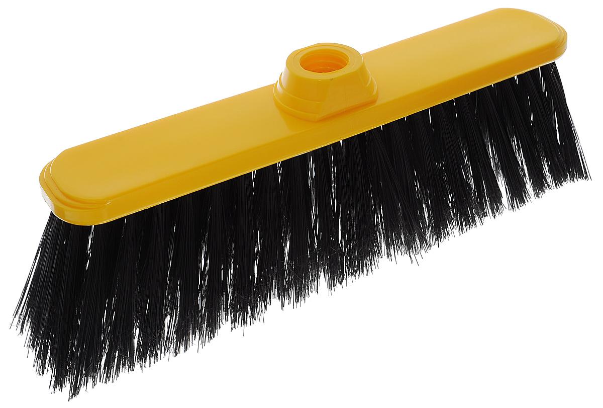 Щетка-насадка Idea Классик Воронины для уборки мусора, цвет: желтый, черныйKOC_SOL249_G4Щетка-насадка Idea Классик Воронины, изготовленная из прочного полипропилена, предназначена для уборки в доме и на улице. Упругие и длинные волоски щетки-насадки не оставят от грязи и следа. Оригинальная, современная щетка для швабры, которую можно подобрать к любому интерьеру, сделает уборку эффективнее и приятнее.Универсальная резьба подходит ко всем видам ручек.Размер рабочей поверхности: 30 см х 6,5 см.Длина ворса: 7,5 см.