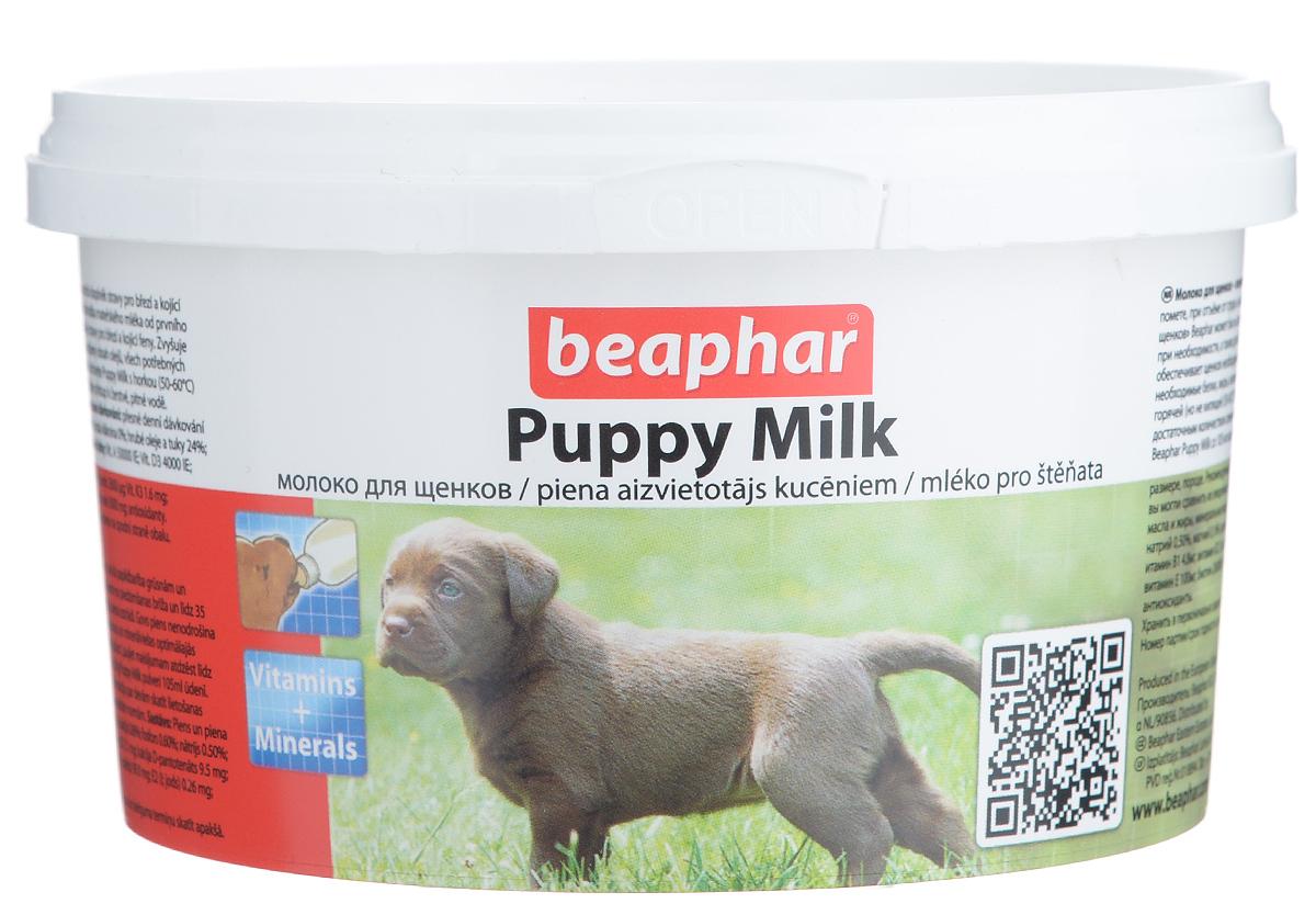 Молочная смесь Beaphar Puppy Milk, для щенков, 200 г0120710Молоко для щенков Beaphar Puppy Milk сделано из легко усваиваемой сыворотки и очень близко по составу ивкусу к натуральному молоку самки.Молочная смесь Beaphar Puppy Milk - это полноценная замена материнского молока для осиротевших, брошенныхили потерявшихся щенков, щенков рожденных в многочисленном помете, при отъеме от груди и какдополнительное кормлении для беременных и кормящих самок, больных или выздоравливающих взрослыхживотных. Смесь может быть использована как основное кормление для щенков с рождения до 35 дней.Увеличивает выработку натурального молока. Содержит все необходимые белки, жиры, витамины и минералы воптимальном соотношении. Состав: молоко и молочные продукты, масла и жиры, минеральные вещества. Анализ: протеин 24%; клетчатка 0%; жиры 24%, зола 7%; влага 3,5 %; кальций 0,90%, фосфор 0,60%, натрий 0,70%,магний 0,14%, калий 1,30%.Содержание витаминов и минеральных веществ в 1 кг: витамин A 50000 МЕ, витамин D3 2000 МЕ, витамин С 130 МЕ,витамин Е 100 мг, витамин B1 5,5 мг, витамин B2 20,0 мг, Д-пантотенат кальция 25,0 мг, никотинамид 25,5 мг, витаминB6 4,5 мг, витамин B12 0,05 мг, холин 760 мг, биотин 0,05 мг, витамин К3 3 мг, фолат 84 мг, железо 80 мг, цинк 40 мг,марганец 20 мг, медь 5 мг, йод 0,14 мг, селен 0,10 мг, метионин 5,0 мг, лизин 16,0 мг, антиоксиданты, эмульгаторы.Вес упаковки: 200 г.Товар сертифицирован.