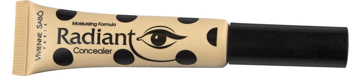Vivienne Sabo Консилер для глаз Radiant, тон 03, 8 мл3341.17В консилере Radiant есть все лучшее, что дает современная косметология: очень нежная и при этом плотная, отлично маскирующая текстура, мягкая кисточка, не раздражающая кожу под глазами. Это практически профессиональный продукт, пригодный как для фотосессии, так и на каждый день.