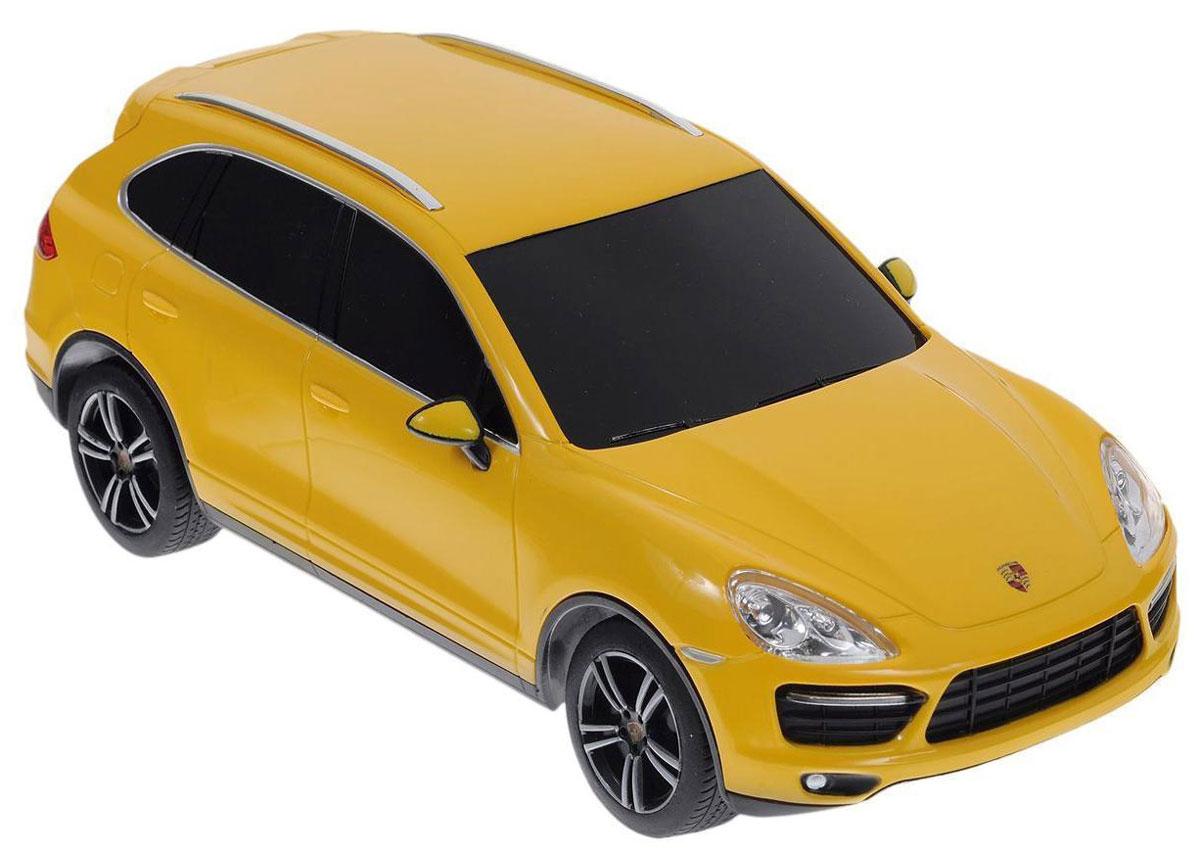 Rastar Радиоуправляемая модель Porsche Cayenne Turbo цвет желтый масштаб 1:24