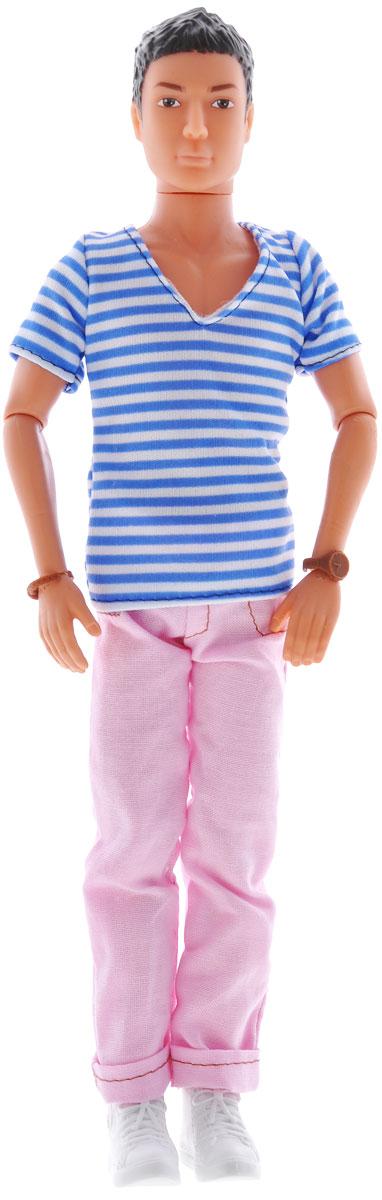 Simba Кукла Steffi Love Casual Kevin цвет одежды розовый белый синий