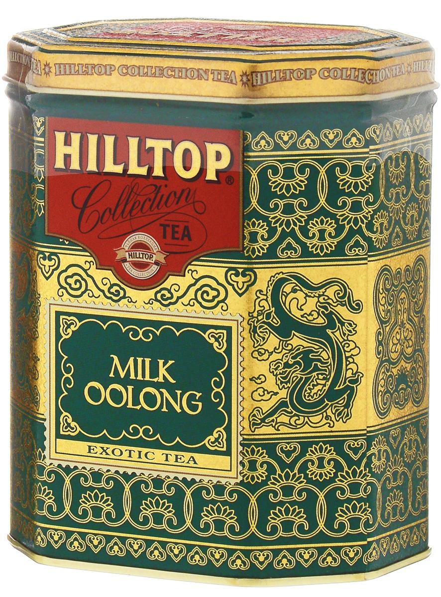 Hilltop Milk Oolong улун листовой чай, 100 г514700Знаменитый китайский полуферментированный чай Hilltop Milk Oolong с нежным ароматом свежих сливок.