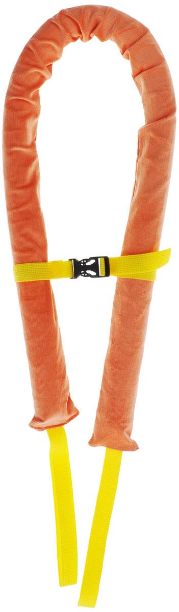 Страховка-пояс Спортбэби предохранит вашу спину от перегрузки, а ребенка - от падений. Пояс выполнен из приятного на ощупь эластичного текстильного материала оранжевого цвета, быстро надевается и снимается и легко фиксируется при помощи ремешка с пластиковым карабином. Пояс оснащен двумя текстильными ручками. Страховка-пояс станет незаменимым атрибутом при обучении ребенка катанию на коньках, роликах, велосипеде. Также ее можно использовать для детишек с ограниченными возможностями. Предназначен для детей в возрасте от 7 месяцев до 7 лет.