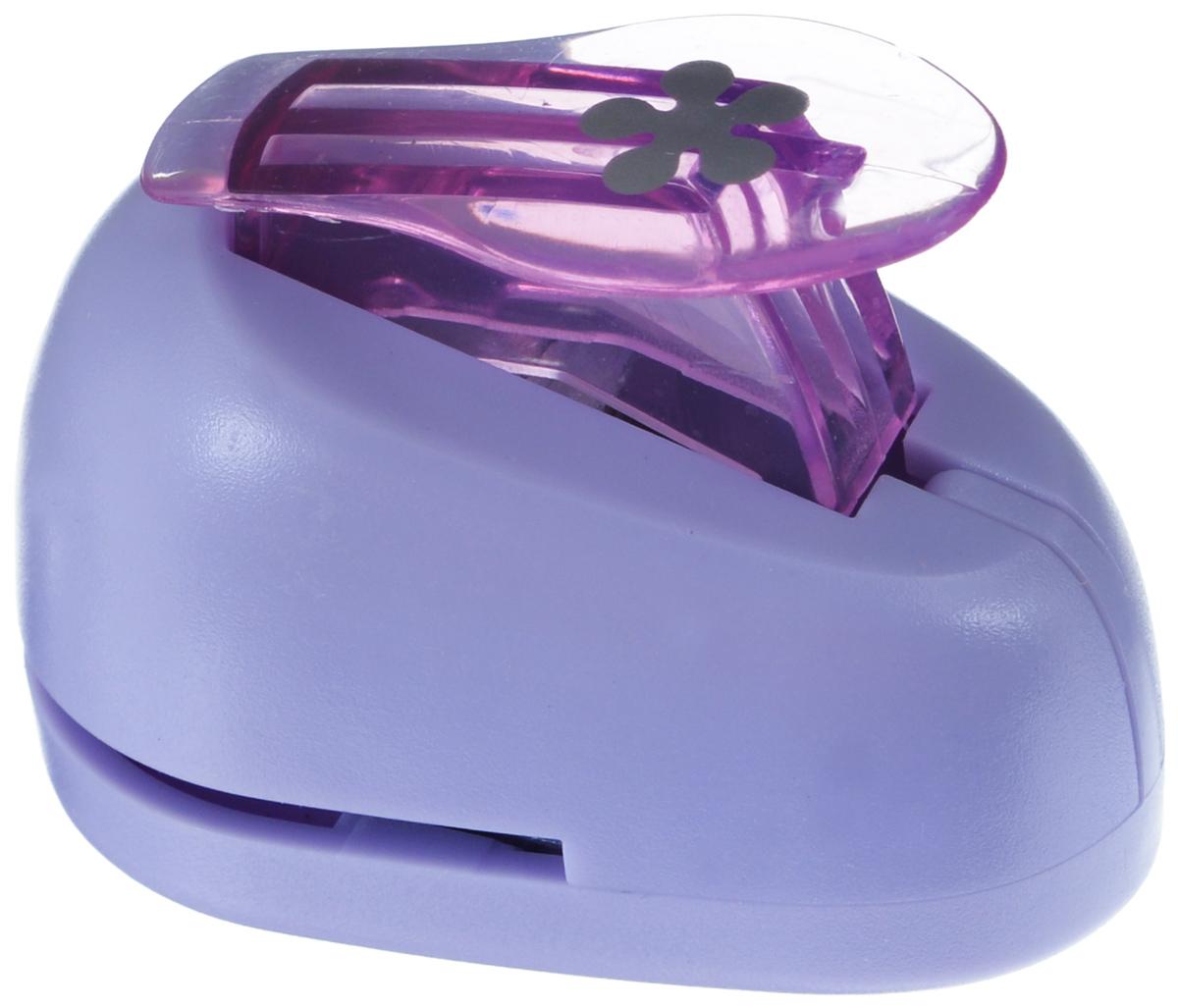 Дырокол фигурный Hobbyboom Цветок, цвет: сиреневый, №199, 1 смC13S041944Фигурный дырокол Hobbyboom Цветок, изготовленный из прочного металла и пластика, поможет вам легко, просто и аккуратно вырезать много одинаковых мелких фигурок.Режущие части дырокола закрыты пластиковым корпусом, что обеспечивает безопасность для детей. Предназначен для бумаги плотностью - 80 - 200 г/м2. Рисунок прорези указан на ручке дырокола.Размер дырокола: 5 см х 4 см х 3 см. Диаметр готовой фигурки: 1 см.