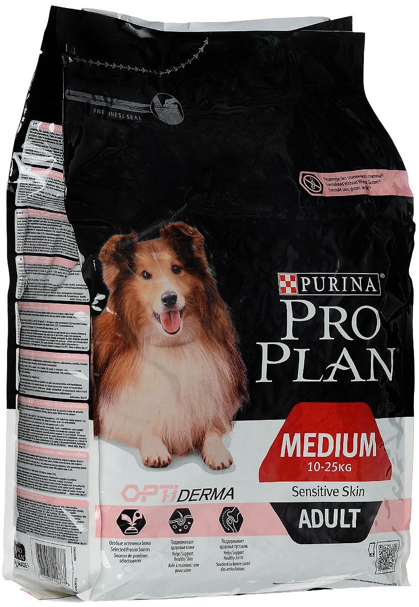 Корм сухой Pro Plan Adult Small Sensitive для собак с чувствительным пищеварением, с лососем и рисом, 3 кг0120710Корм сухой Pro Plan Adult Small Sensitive - это полностью сбалансированный корм, предназначенный специально для взрослых собак с чувствительной кожей и пищеварением в возрасте от 1 года до 7 лет.Основные свойства: - нормализует функционирование и равновесие между всеми защитными системами организма; - облегчает переваривание и повышает переносимость пищи. Дополнительные свойства: - поддерживает и защищает пищеварительную систему; - борется со свободными радикалами и поддерживает силы иммунной системы; - обеспечивает силу и эластичность кожи, толщину шерсти, защищая от неблагоприятных внешних факторов. Состав: лосось 14%, рис 14%, кукуруза, сухой белок лосося, кукурузный глютен, кукурузная мука, продукты переработки растительного сырья, животный жир, вкусоароматическая кормовая добавка, сухая мякоть свеклы, яичный порошок, минеральные вещества, рыбий жир, сушеный корень цикория, кукурузный крахмал, масло соевое, витамины, антиоксиданты. Добавленные вещества (на 1 кг): витамин А 32000 МЕ, витамин D3 1040 МЕ, витамин Е 550 МЕ, витамин С 140 мг, железо 90 мг, йод 2,3 мг, медь 14 мг, марганец 42 мг, цинк 170 мг, селен 0,14 мг. Гарантируемые показатели: белок 27%, жир 15%, сырая зола 7,5%, сырая клетчатка 3%. Товар сертифицирован.