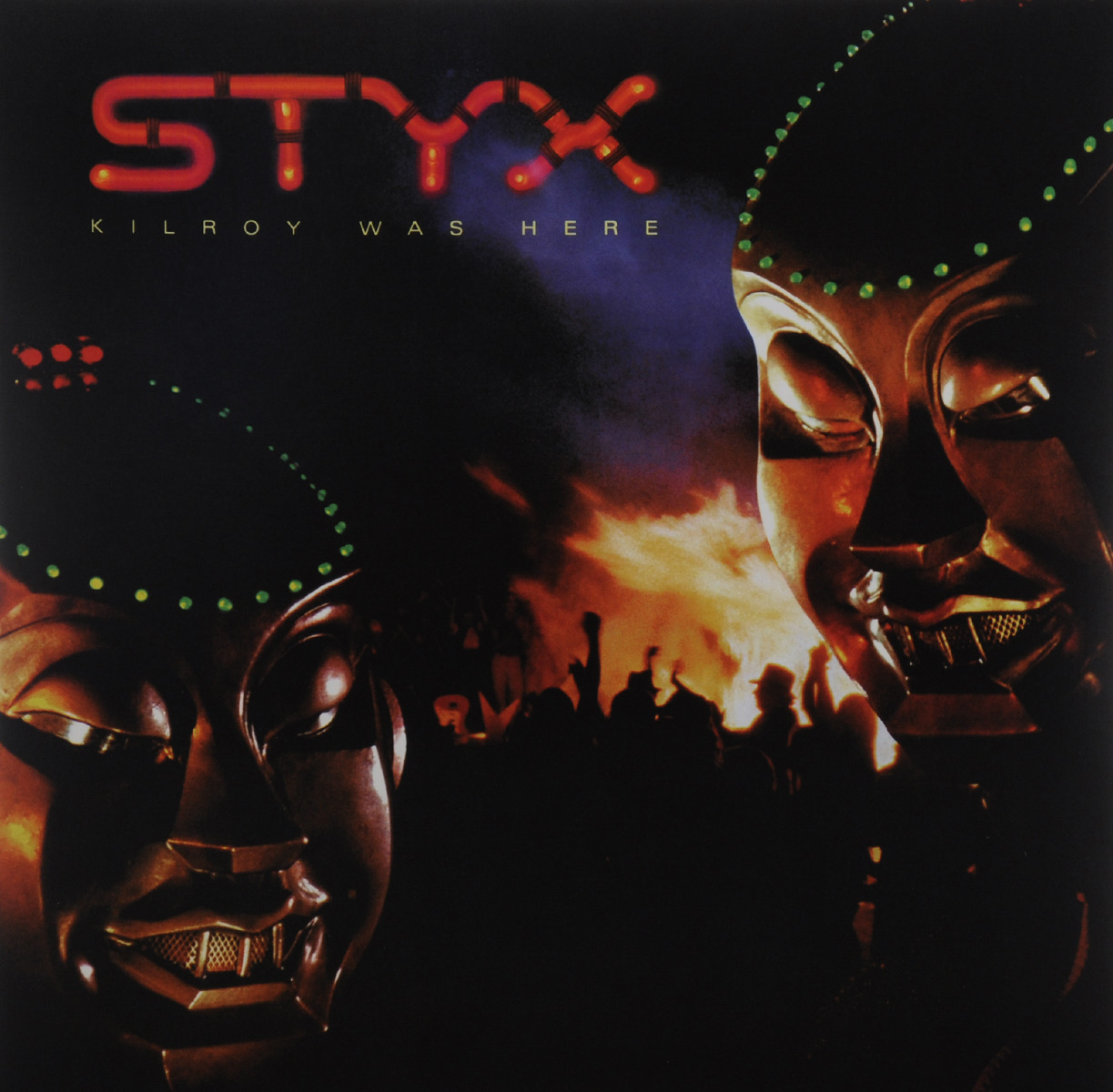 Styx Styx. Kilroy Was Here (LP) behold here s poison