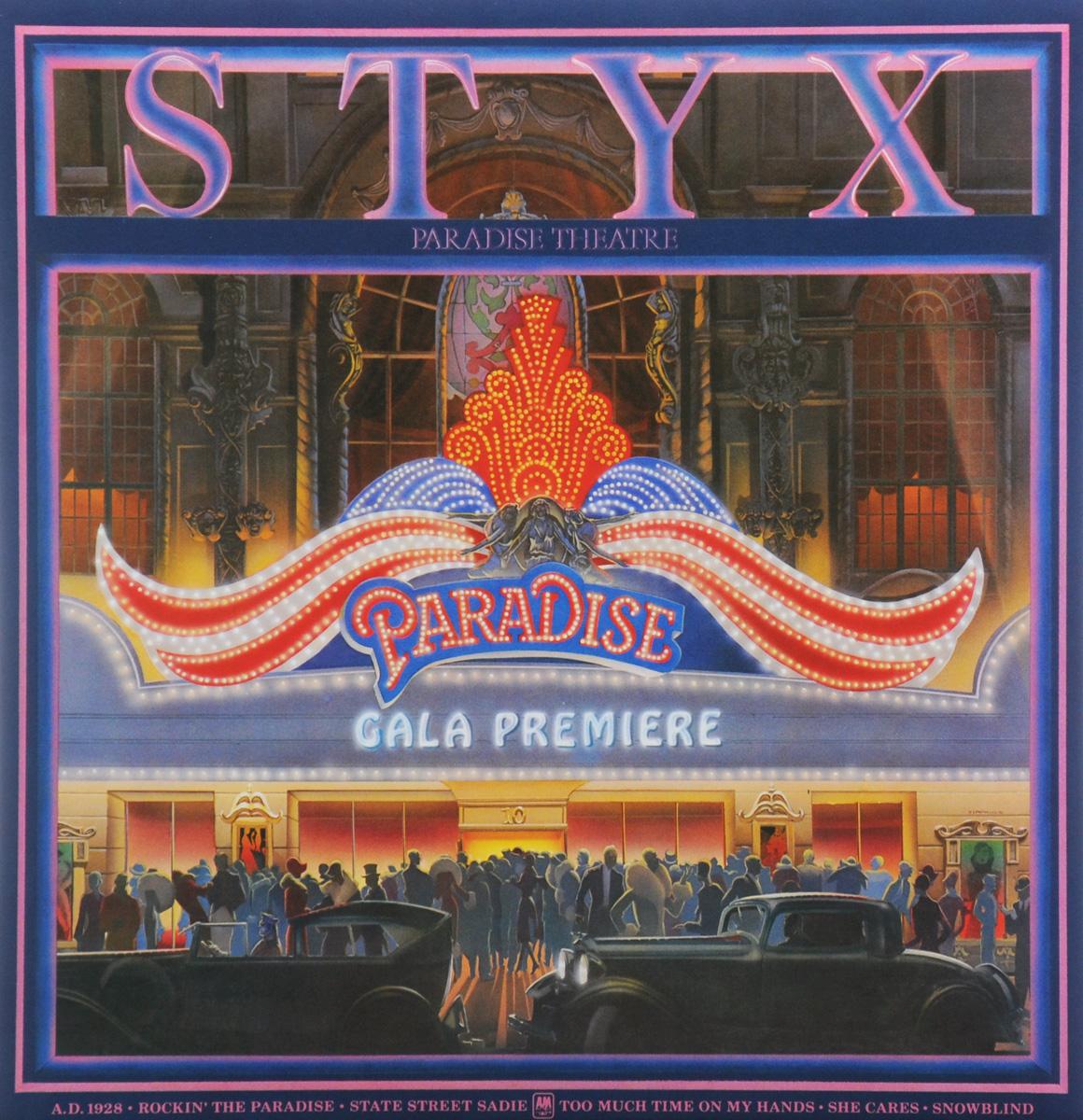 Styx Styx. Paradise Theatre (LP) гелевые термоактивные об ртывания styx