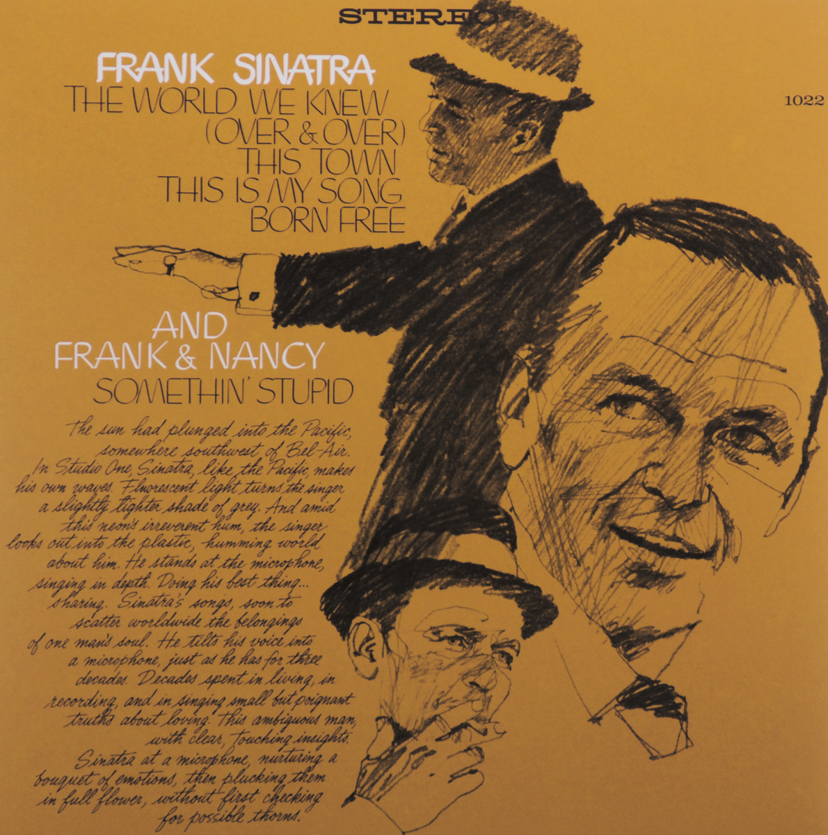 Frank Sinatra. The World We Knew (LP)