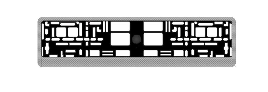 Рамка под номерной знак AVS, цвет: светлый карбон19201Рамка под номерной знак AVS изготовлена из ABS-пластика. Этот материал устойчив к высоким и низким температурам. Рамка предназначена для установки в нее автомобильного номера. Легко устанавливается. Соответствует требованиям ГИБДД, имеет российско-европейский размер. Удобная конструкция рамки с нижними защелками позволит легко вставить в нее номерной знак, а универсальные отверстия обеспечат надежное крепление рамки к автомобилю.