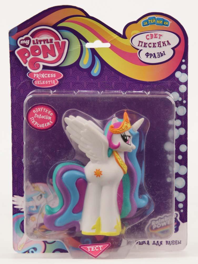 My Little Pony Пластизоль Селестия со светом и звуком фигурки игрушки союзмультфильм пластизоль гена со светом и звуком