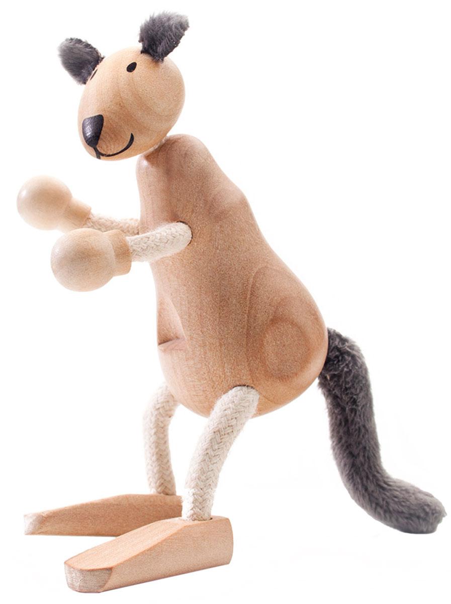 AnaMalz Фигурка деревянная Кенгуру фигурки игрушки anamalz anamalz бурый мишка