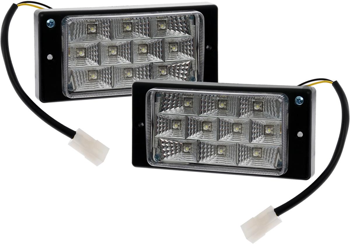 Противотуманные светодиодные фары AVS PF-175L, для Lada 2110-2112, 2 штPANTERA SPX-2RSВ тяжелых метеоусловиях, таких как: туман, дождь или снегопад, свет от обычных фар автомобиля, а точнее лучи ближнего и особенно дальнего света, отражаясь и рассеиваясь от мельчайших капель воды и снежинок, создают полупрозрачную пленку, которая уменьшает видимость. Противотуманные фары AVS PF-175L дают плоский и широкий горизонтальный луч, который стелется непосредственно над дорогой, чтобы не освещать толщу тумана по высоте.Напряжение: 12 В.Диапазон рабочей температуры: от -40°С до +85°С.Мощность одного светодиода: 0,1 Вт.Количество светодиодов: 10.Температура свечения: 6000 К.Световой поток: 60 Лм.IP защита: 54.