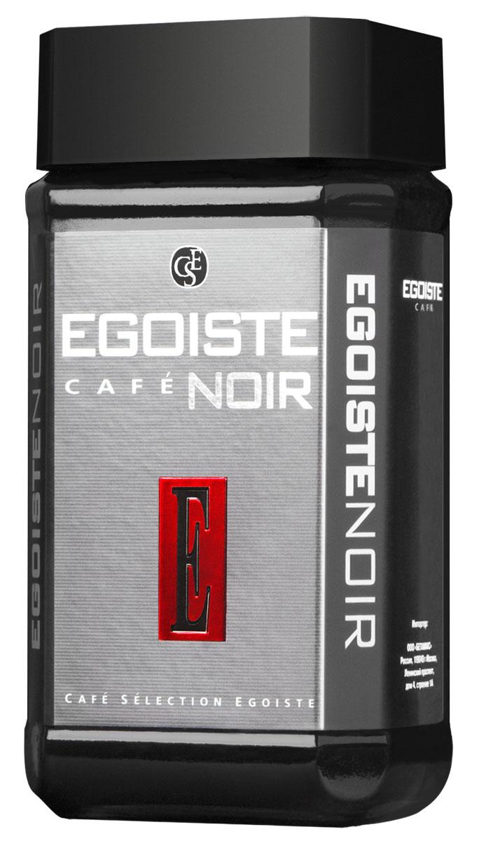 Egoiste Noir кофе растворимый, 100 г0120710Egoiste Noir содержит в себе великолепную смесь высокогорной и равнинной Кенийской Арабики, отличающейся богатым ароматом и нежной кислинкой.