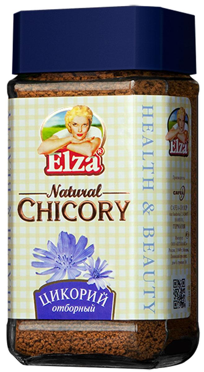 Elza Natural Chicory цикорий, 100 г4260283250011Elza Natural Chicory - натуральный напиток для здорового образа жизни. Содержащийся в цикории инулин способствует улучшение обмена веществ и пищеварения. Оказывает успокаивающее действие на нервную систему, улучшает работу сердца. Цикорий повышает иммунитет, очищает организм. Он богат минеральными веществами, витаминами и микроэлементами.
