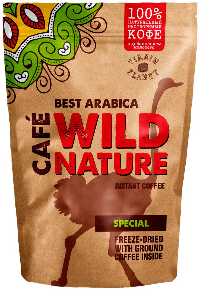 Wild Nature Special кофе растворимый, 75 г кофе бариста нескафе
