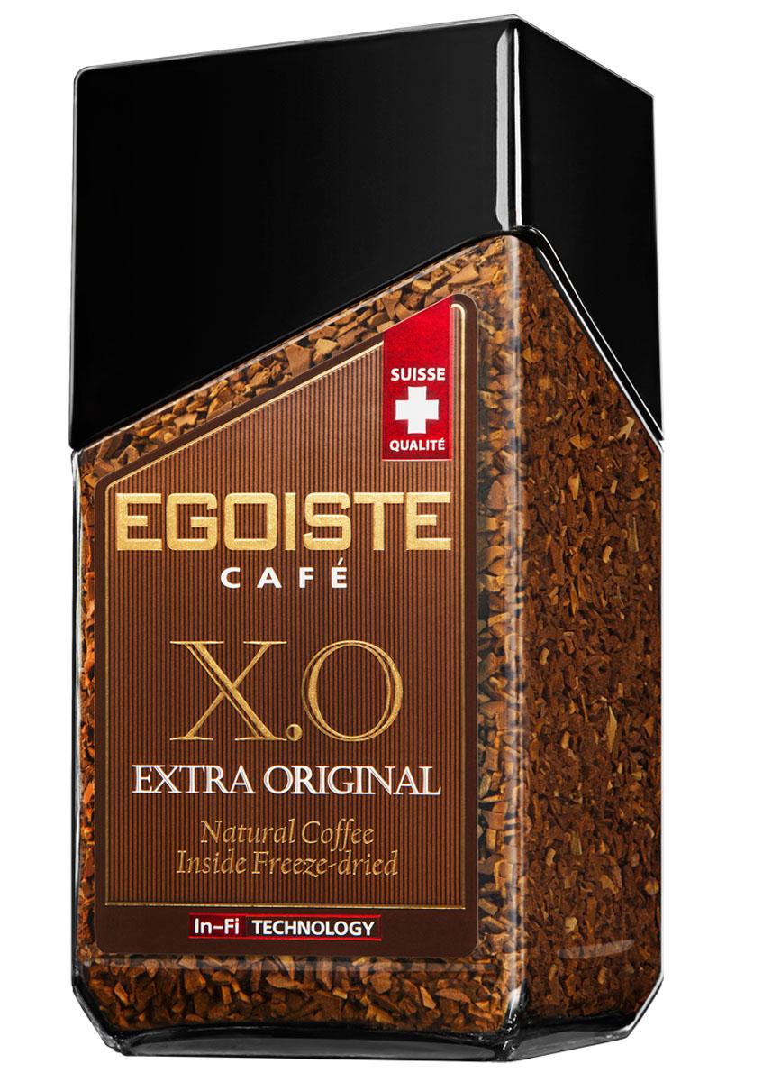 Egoiste X.O. кофе растворимый, 100 г604354Egoiste X.O. имеет мягкий бархатистый вкус средней плотности с неповторимым сладким послевкусием кенийской арабики.