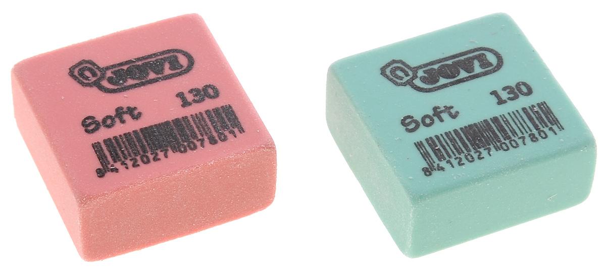 Baramba Набор ластиков Soft, с раскраской, 2 шт, цвет: розовый, зеленыйFS-36055Ластики Baramba идеально подходят для применения как в школе, так и в офисе. Обеспечивают высокое качество коррекции, не повреждают поверхность бумаги, даже при сильном трении, не оставляют следов.Изготовлены из высококачественного полимерного материала, содержащего особые капсулы dust free.Абсолютно безопасны, не токсичны и экологичны. Рекомендовано для детей старше 3-х лет.