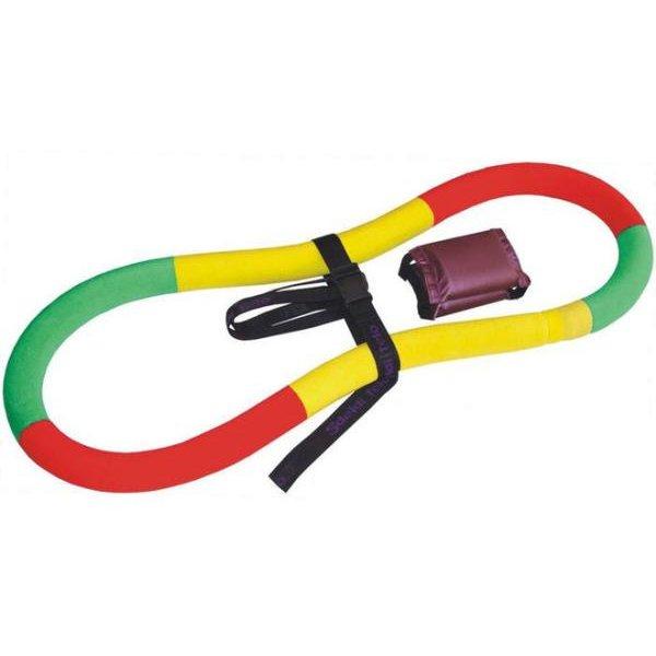 Обруч-тренажер Спорт-21 Сделай тело, цвет: мультиколор, диаметр 90 смСТОбруч-тренажер Спорт-21 Сделай тело- это упругий эластичный обруч, изготовленный из двухслойного армированного эластичного каучука. Тренажер можно крутить как обычный хула-хуп или выполнять различные гимнастические упражнения. Обруч развивает координацию движений, гибкость, силу, чувство ритма, артистичность, укрепляет вестибулярный аппарат. Сжигает лишние килограммы в проблемных участках тела, улучшает состояние кожи в области талии, живота и бедер. Нормализует работу кишечника. Тренирует и развивает мышцы рук, плеч, спины, ног, живота. Удобен и прост в использовании.Вид: гимнастический, утяжеленный.Тип: неразборный.Диаметр внешний: 90 см.Сечение: 7 см.Толщина: 8-9 см.Покрытие: трикотаж.Наполнитель: песчаная смесь.В комплекте: ремень, буклет с иллюстрацией упражнений.Вес: 2,5 кг.Уважаемые клиенты!Обращаем ваше внимание на то, что сочетания цветов могут меняться. Поставка осуществляется в зависимости от наличия на складе.