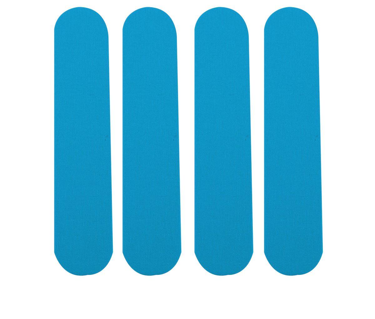Лента кинезиологическая для запястья Lite Weights, цвет: голубой, 4 шт1216LWЛента кинезиологическая Lite Weights предназначена для защиты мышц запястий от растяжений во время занятий спортом. Специальные хлопковые ленты, не содержащие латекс, с акриловым термоактивным покрытием, аналогичные по эластичности человеческой коже, которые накладываются по методу кинезиологического тейпирования. Тейпы обеспечивают адекватную работу мышц, протекание саногенетических процессов, уменьшая болевой эффект, при этом не ограничивая движений, улучшая крово- и лимфоток, обладая гипоаллергенными свойствами и полной воздухо- и влагопроницаемостью, позволяет использовать их на протяжении 5 дней, 24 часа в сутки, даже в воде.Преимущества кинезиологической ленты:позволяет снизить нагрузку на определенные мышцы;обеспечивает плавный процесс восстановления после травм;усиливает кровообращение на участке наклеивания; улучшает снабжение мышц кислородом;уменьшает болевой синдром и отечность;размер одной ленты: 25 см х 5 см;ускоряет заживление ран и рассасывание гематом.