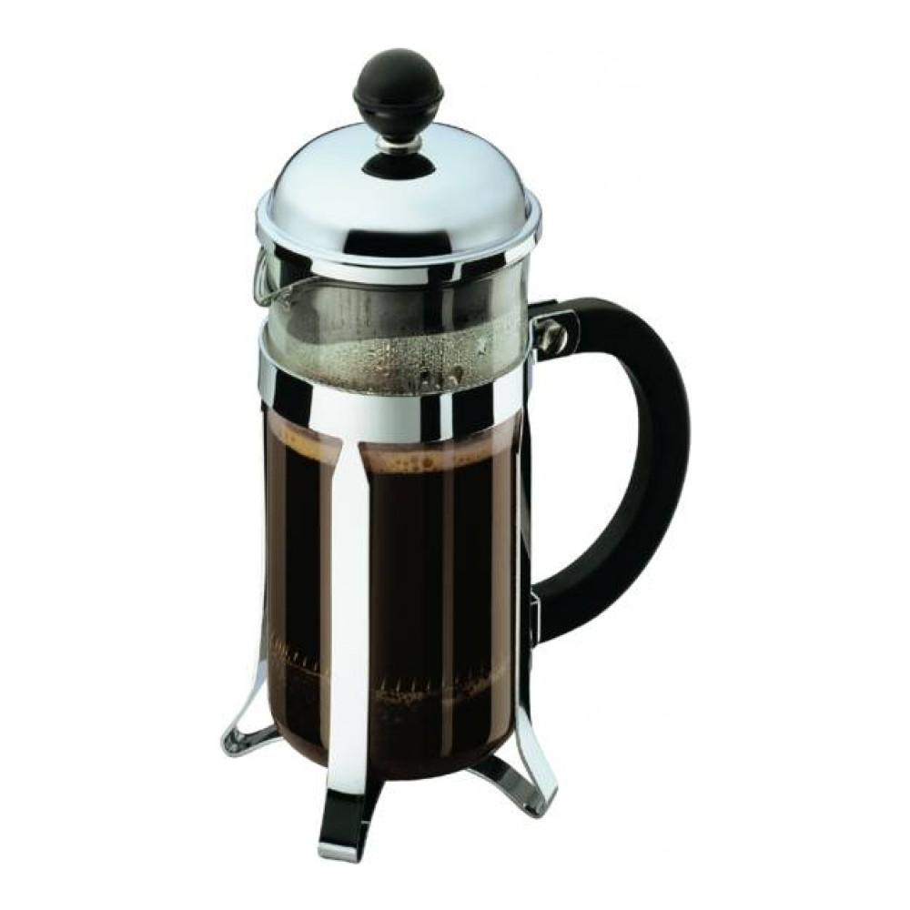 Кофейник с прессом Chambord 0.35л черный, арт. 1923-1654 009312Материал: коррозионностойкая сталь, пластик, стекло