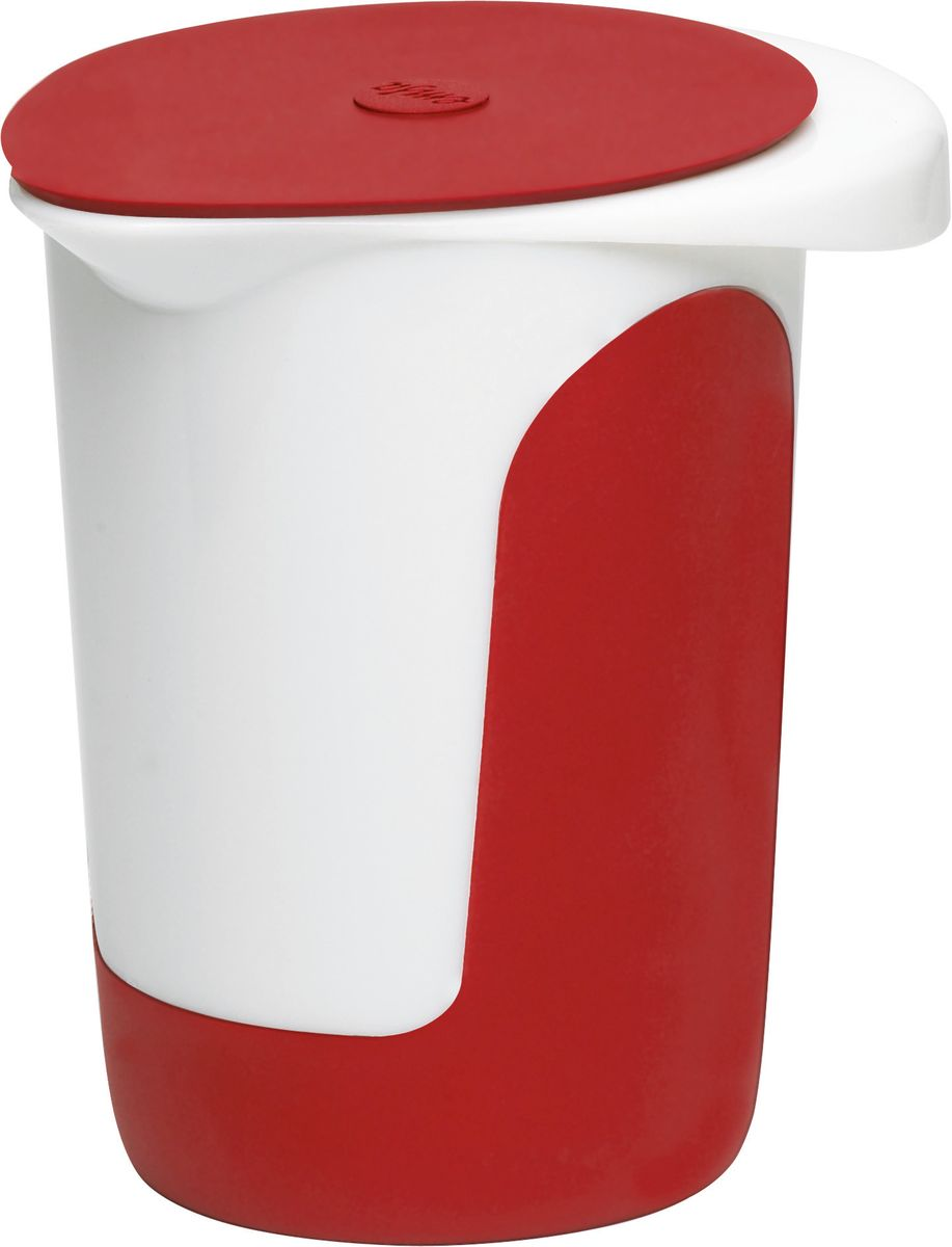 Миска для смешивания Emsa Mix&Bake, с крышкой, цвет: белый, красный, 1 л24107Миска Emsa Mix&Bake предназначена для взбивания теста при выпечке. Выполнена из высококачественного пищевого пластика. Противоскользящее основание и зоны захвата для надежного удержания - также в наклоненном положении. Внутри расположена мерная шкала. Изделие оснащено крышкой.