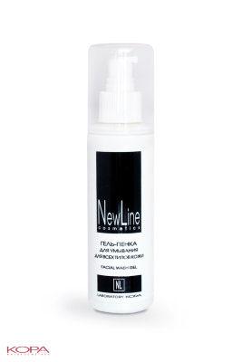 New Line Гель-пенка для умывания для всех типов кожи,150млAC-2233_серыйПредназначена для демакияжа и очищения кожи. Эффективно и бережно устраняет загрязнения и излишнюю сальность, не повреждая естественный защитный слой кожи.Хорошо снимает все виды макияжа.