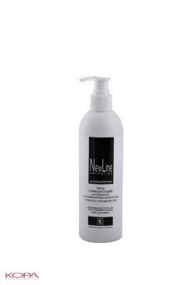New Line Гель очищающий для жирной и комбинировнной кожи (с дозатором), 300 млFS-54100Профессиональное средство для очищения жирной и склонной к акне кожи.Содержит мягкие моющие компоненты, эффективно и максимально бережно устраняет загрязнения и излишнюю сальность.Повышенное содержание салициловой кислоты способствует размягчению и удалению участков гиперкератоза и сальных пробок.