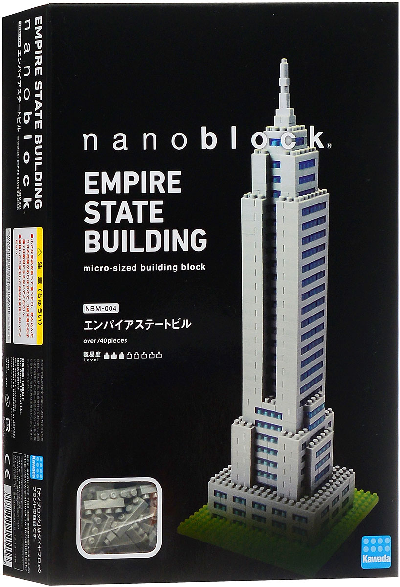 Nanoblock Мини-конструктор Эмпайр стейт билдинг