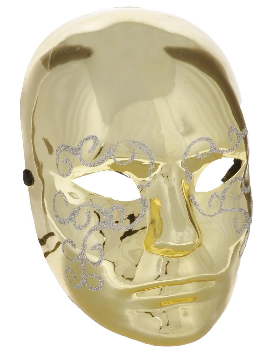 """Карнавальная маска Lunten Ranta """"Фантомас"""", изготовленная из пластика и украшенная блестками, внесет нотку задора и веселья в праздник. Маска станет завершающим штрихом в создании праздничного образа. Изделие крепится на голове при помощи ленты. В этой роскошной маске вы будете неотразимы!"""